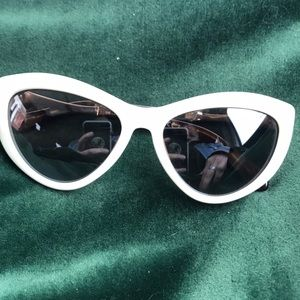 Kate Spade Cream Cat Eye Sunglasses